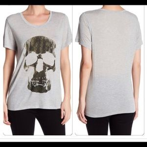 Gray Skull T-shirt